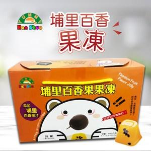 家購網嚴選-熊熊遇到愛 埔里百香果果凍x4盒(1150g/盒)
