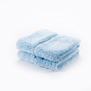 HOLA 超細纖維毛巾四入組藍