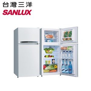 【SANLUX 三洋】128公升雙門冰箱SR-B128B3