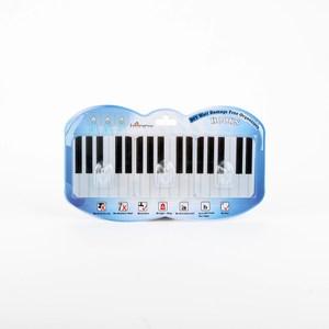 HOMMY黏貼式掛勾-鋼琴(三入)