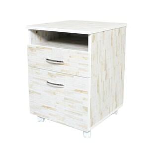 【DIJIA】工業風收納櫃 (兩色任選)白色拚木