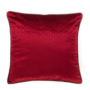 HOLA 凱特風格抱枕 45x45cm 壓花紅