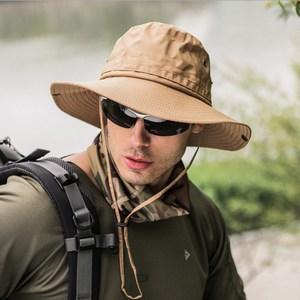 PUSH!戶外用品戶外登山帽折疊遮陽帽夏季速乾漁夫帽H31卡其卡其