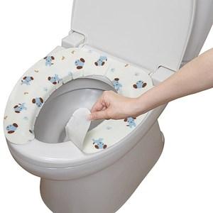 日本SANKO兒茶素抗菌防臭馬桶座墊貼(小藍狗 )