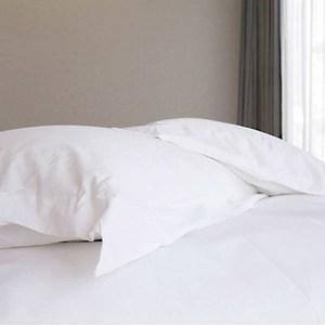 【法式寢飾花季】優雅生活-五星級飯店御用平紋枕套10入組