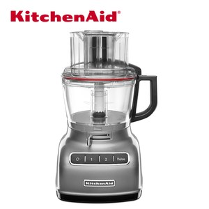 【KitchenAid】專業食物調理機 9 Cup(太空銀)