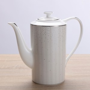HOLA home 亞麻星辰骨瓷咖啡壺