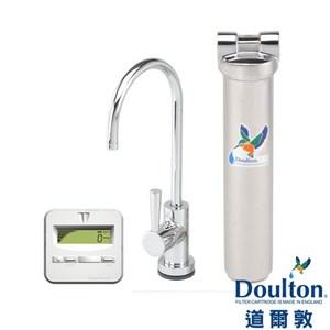 英國 道爾敦 Doulton 單管顯示型不銹鋼檯下型濾水器 HIS-M12