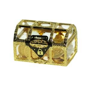 荷蘭Steenland金幣巧克力寶藏盒100g