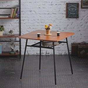 【AccessCo】工業風復古方桌 餐桌 咖啡桌