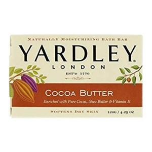 Yardley London 雅禮香皂 -可可脂 *24/箱購