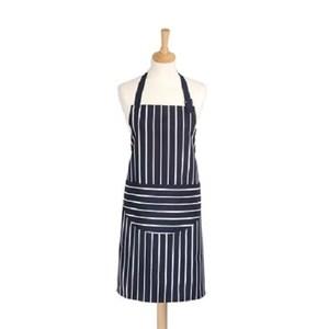英國dexam 經典條紋連身圍裙(藍)