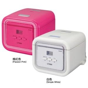 【TIGER虎牌】3人份tacook微電腦電子鍋(桃紅色) JAJ-A55R