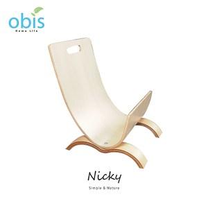 【obis】NickyJ型雜誌架-椴木色