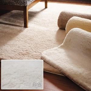 貝琪地毯70x133cm 白色