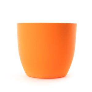 繽紛水位計花盆18.5CM-橘