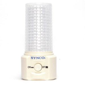 【新格牌SYNCO】滿天星開關式LED小夜燈(2入)