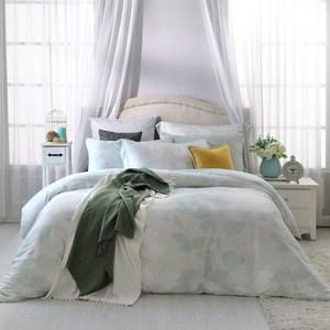BBL 愜意午後100%萊賽爾纖維天絲印花兩用被床包(加大)加大