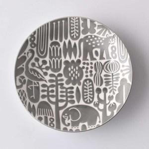 Natural69 波佐見燒 Utopia系列 甜點盤  15cm 薄霧灰