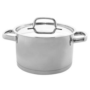 牛頭牌 雅登歐式直身湯鍋20cm(雙耳)