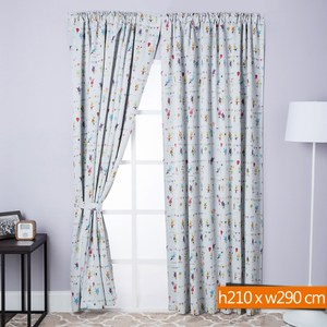 歡樂派對防蹣抗菌遮光窗簾 寬290x高210cm