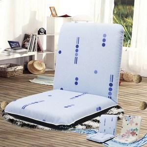 【KOTAS】帕斯輕巧防潑水五段和室椅-水藍單人