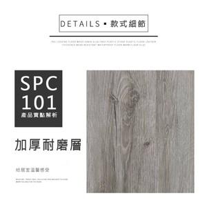漫步居家 SPC卡扣式地板(10片/0.68坪DIY材料)多款任選_SPC101