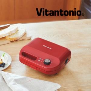 【Vitantonio】小V多功能計時鬆餅機(熱情紅)