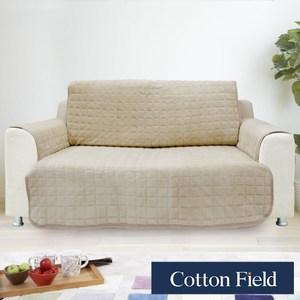 棉花田【William】單人沙發防滑保暖保潔墊-4色可選單人-卡其色