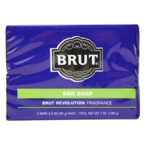 Brut男士古龍水香皂革新*6古龍水香味(99g*2)*6