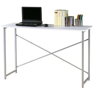 【Homelike】超值工作桌-寬120公分(純白色)