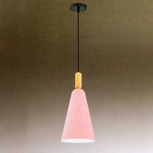 YPHOME 淺藍單吊燈 A12912L粉紅色 12914