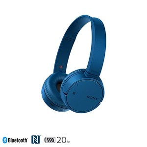 SONY WH-CH500 無線耳罩式耳機 藍色