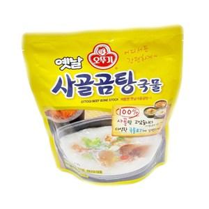 韓國不倒翁牛骨湯350g