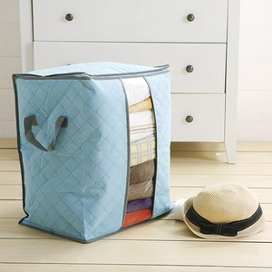 HONEY COMB 出清 衣物收納 被子收納袋 兩色GT-3208 藍色