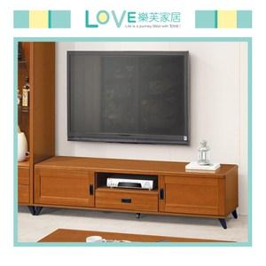 【LOVE 樂芙】多樟木色6尺電視櫃
