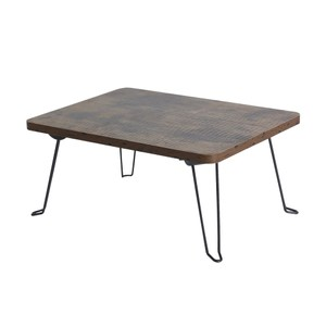 樂嫚妮 折疊和室茶几邊矮桌-仿木色 寬-40cm仿木色