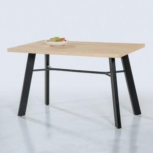 【YFS】布萊克4尺餐桌-120x75x75cm(三色可選)黃