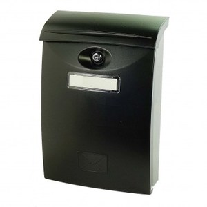 歐風塑鋼信箱(黑)