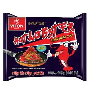 【VIFON味豐】越南 辣龍蝦乾拌麵/蟹湯米細麵 30包/箱