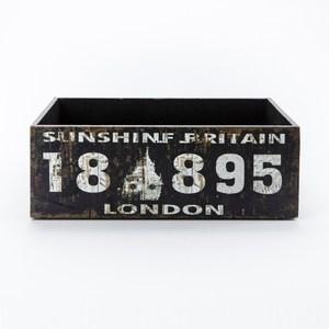 莫爾復古可堆疊大收納盒 數字