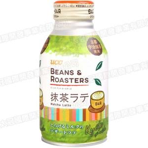 日本UCC Beans抹茶拿鐵飲料260g