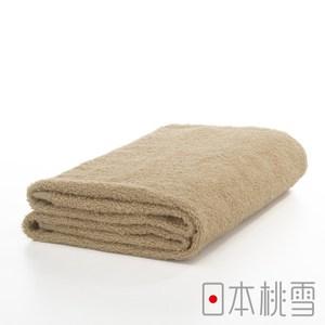 日本桃雪【精梳棉飯店浴巾】淺咖