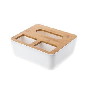 和風竹多功能收納面紙盒