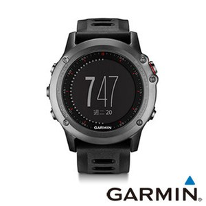 Garmin戶外運動錶fenix 3,GPS Watch,Grey, TWN 太