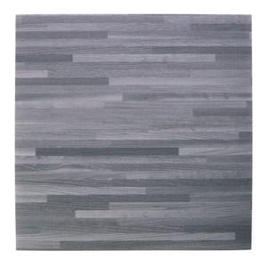 塑膠地磚 12吋 灰拼木 型號_2971-14A 半坪裝