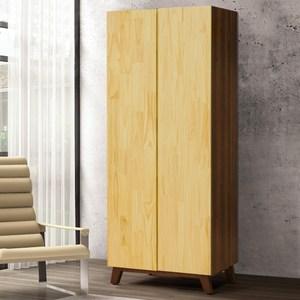 Homelike 錫德2.7尺雙吊衣櫃