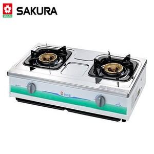 【櫻花SAKURA】節能安全瓦斯爐(G-611K)-天然瓦斯