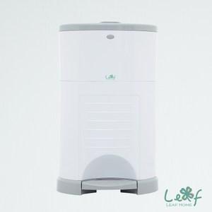 【澳洲Leaf Home】家事幫手抗臭垃圾桶-白-25L