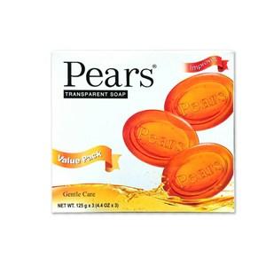 【印度PEARS】梨牌甘油皂(125g)*12
